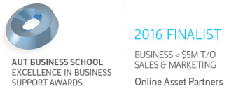 Online Marketing NZ AUT 2016 Finalist